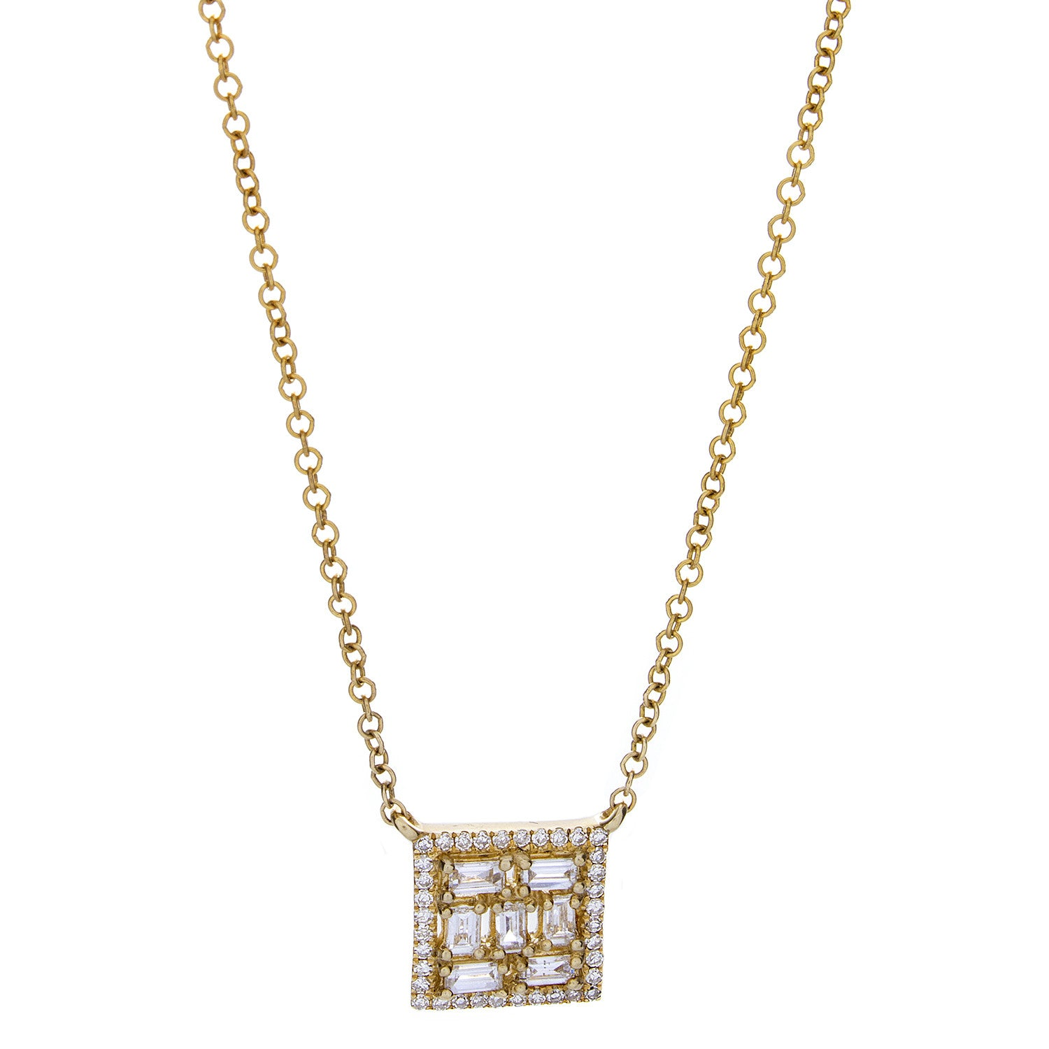 gold square danielle necklace moosbrugger open products yellow img