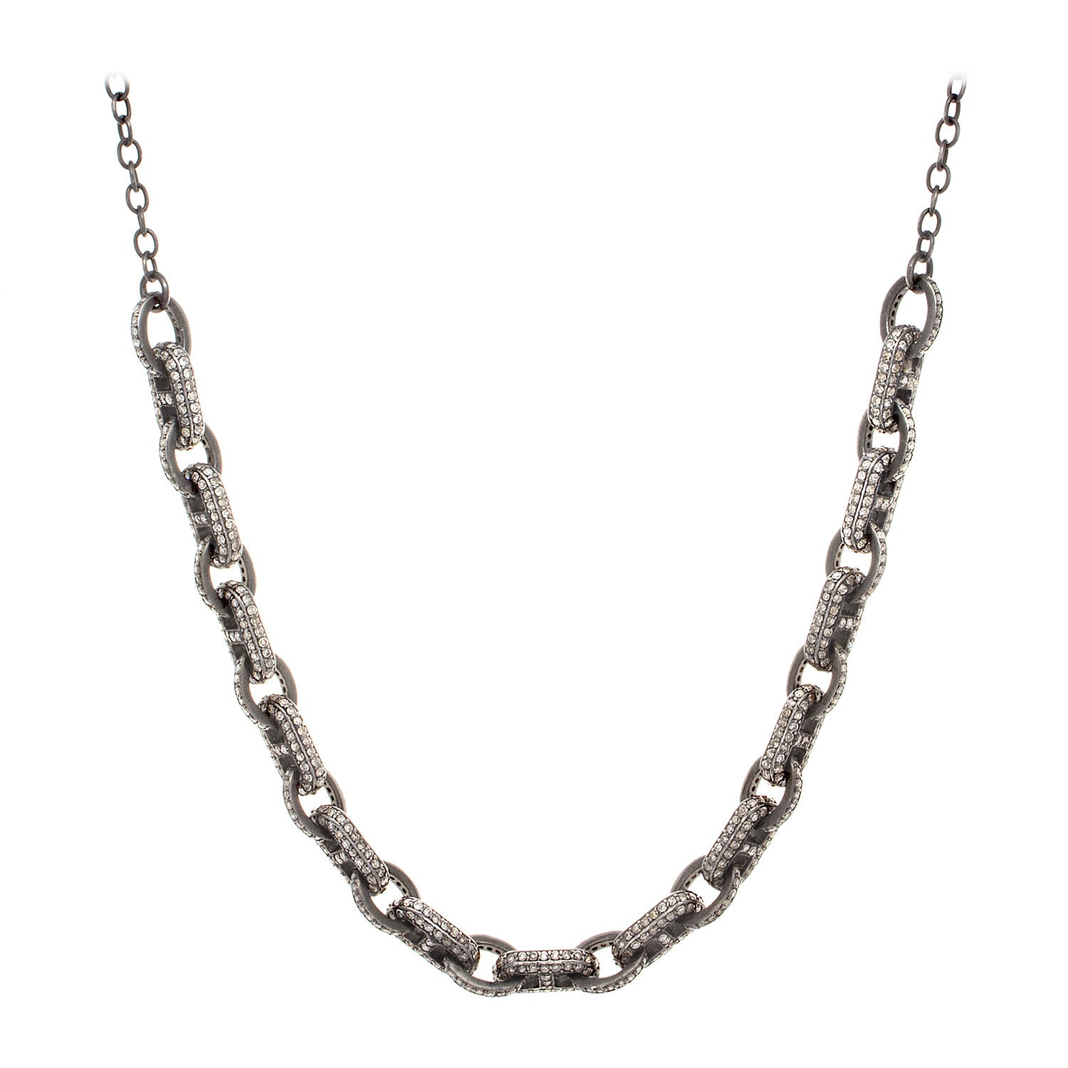 Diamond Link Necklace
