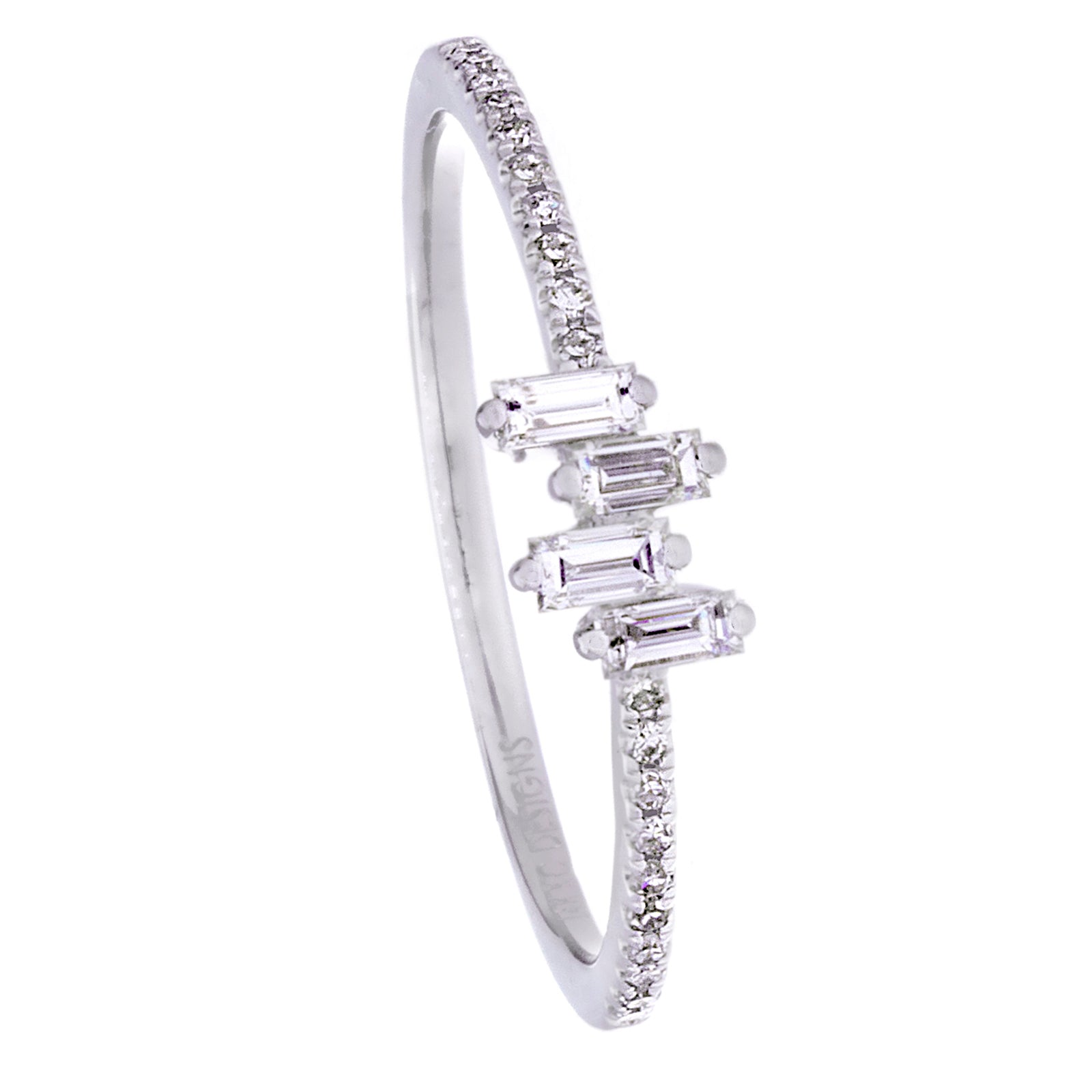 Diamonds & 14K White Gold Ring