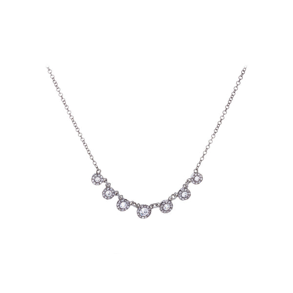 Diamonds & 14K White Gold Necklace - SOLD