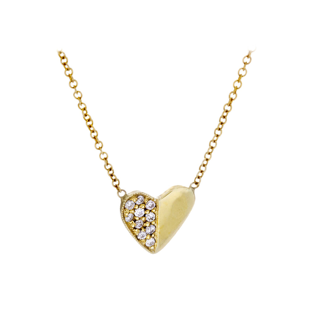 Diamonds & 14K Yellow Gold Necklace