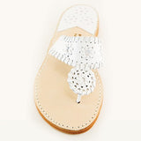 Classic White Leather PB Sandal