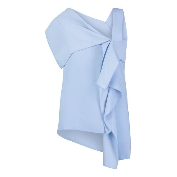 Nicole Reversible Top Cashmere Blue