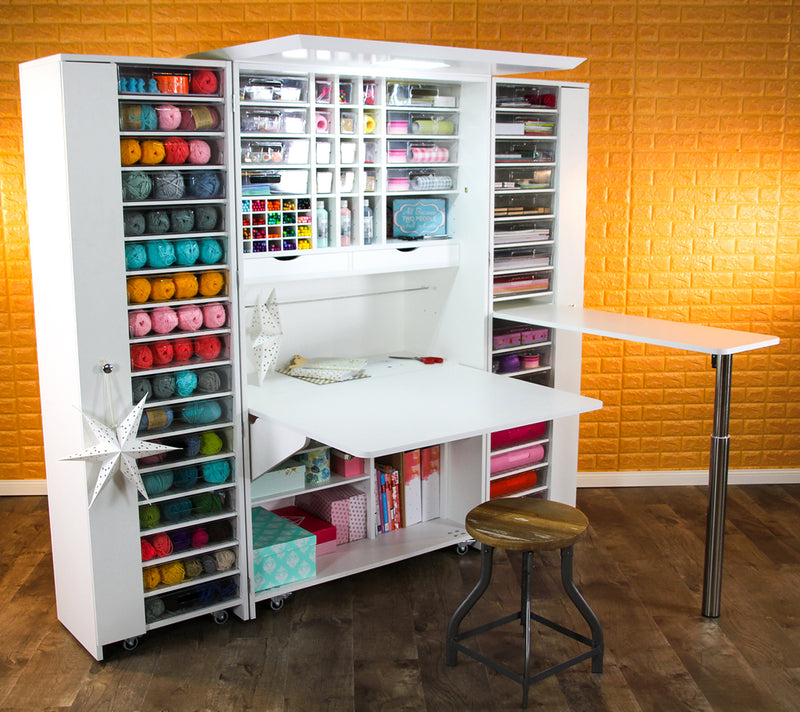 BrandBox Seitentisch (CRAFT - SEW - OFFICE) NEU! - The Brand Box Handel & Vertrieb GmbH