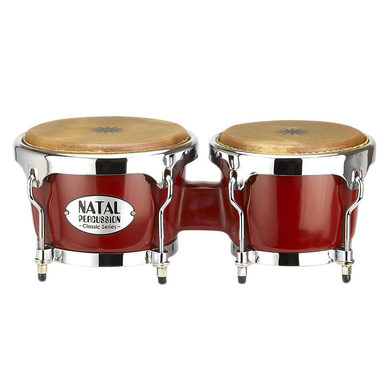 Natal Percussion - Bongo Fiberglass Classic Red