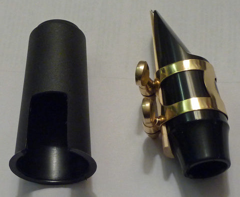 """No Name"" Soprano Sax Mouthpiece w/ Ligature & Cap"