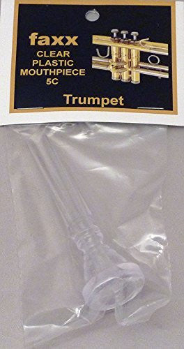 Faxx Clear Plastic Trumpet Mouthpiece 5C