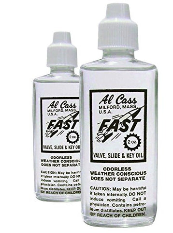 Al Cass Valve Oil, 2.0 Fluid Oz. Two Bottles