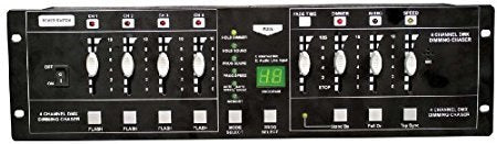 MBT Lighting Dim4 4-Channel Controller/Dimmer Pack