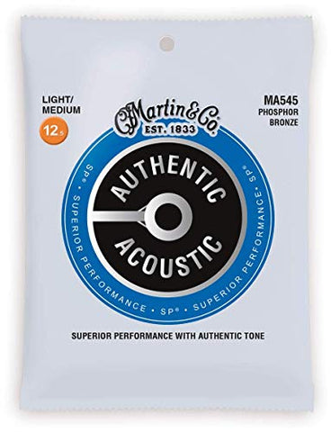 Martin Acoustic Guitar Strings (MA545)