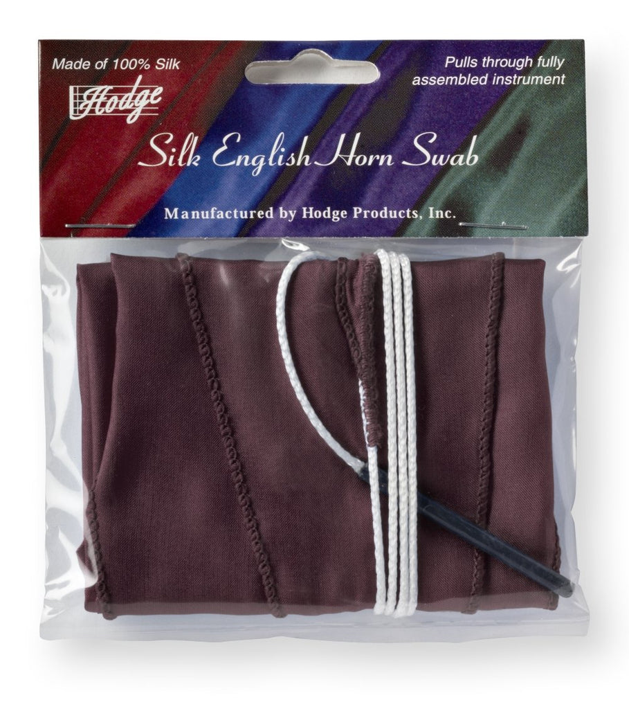 Hodge Silk English Horn Swab - Burgundy