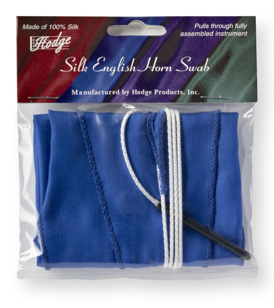 Hodge Silk English Horn Swab - Blue