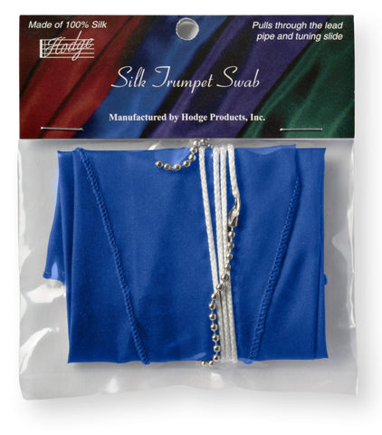 Hodge Silk Trumpet Swab - Blue