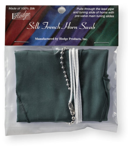 Hodge Silk French Horn Swab - Green