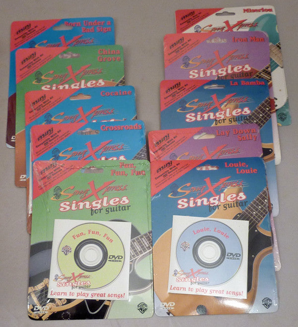 SongXpress Singles for Guitar - 10 pack