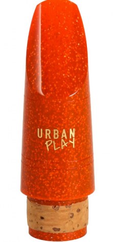 Buffet Crampon (BC) Urban Play Clarinet Mouthpiece - Orange
