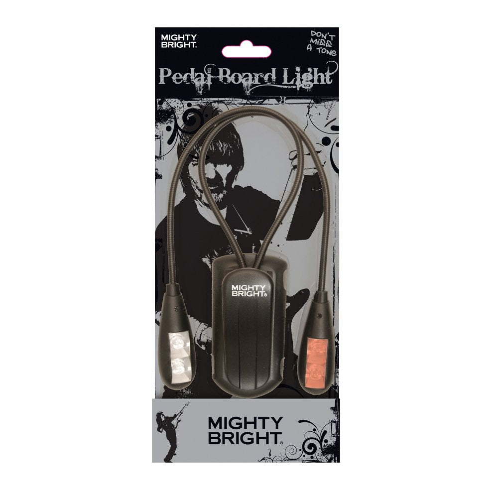 Mighty Bright 52010 Pedalboard Light, Black