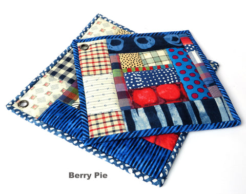 Handmade Potholders from Vintage Quilts (Set of Two)