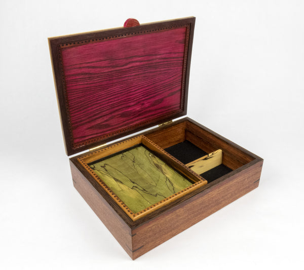 Winestain Jewelry Box