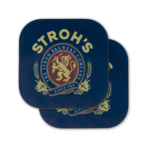 STROH'S SEAL COASTER (SET OF 2)
