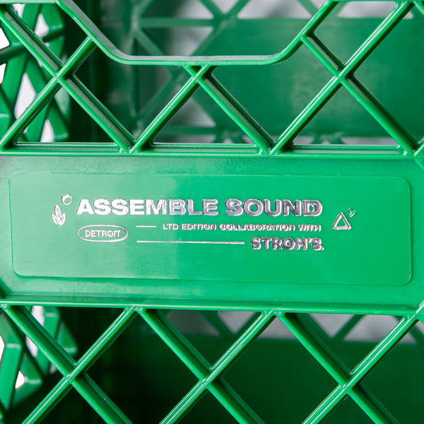 STROH'S x ASSEMBLE SOUND RECORD CRATE