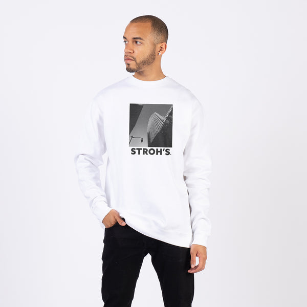 HIGH RISE CREWNECK - WHITE