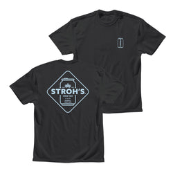 Stroh's Can Tee - Black
