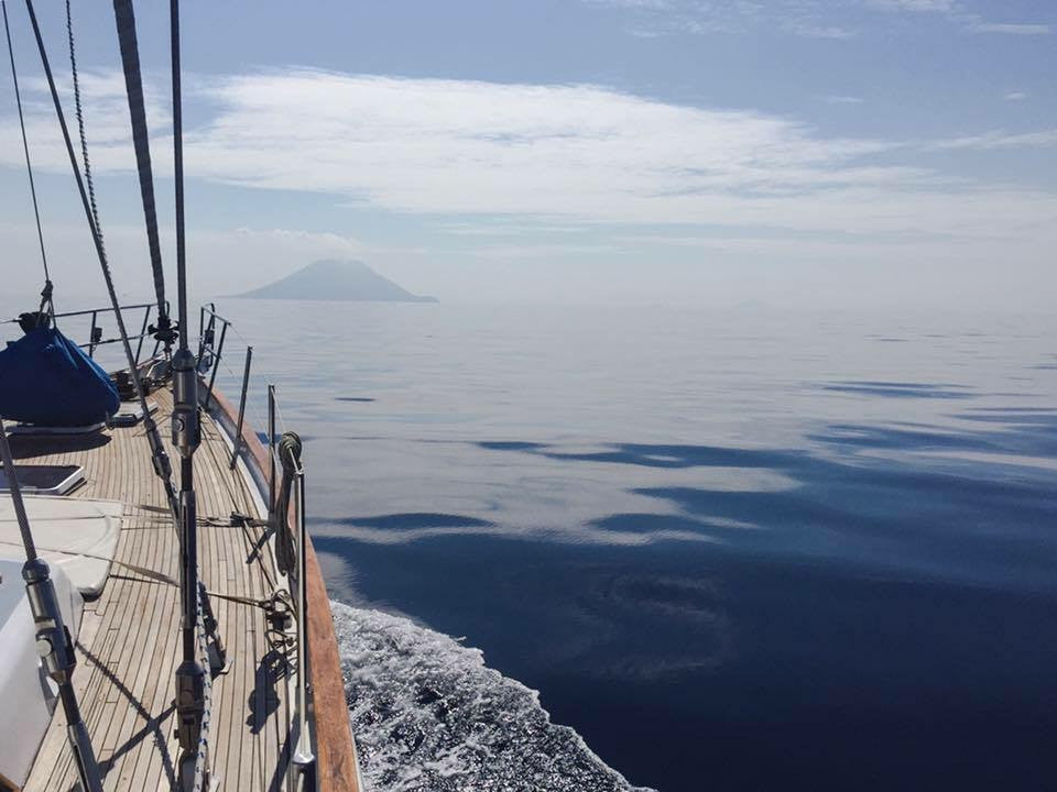 Co-Boating Project / Days 6 & 7 - From Costiera to Stromboli