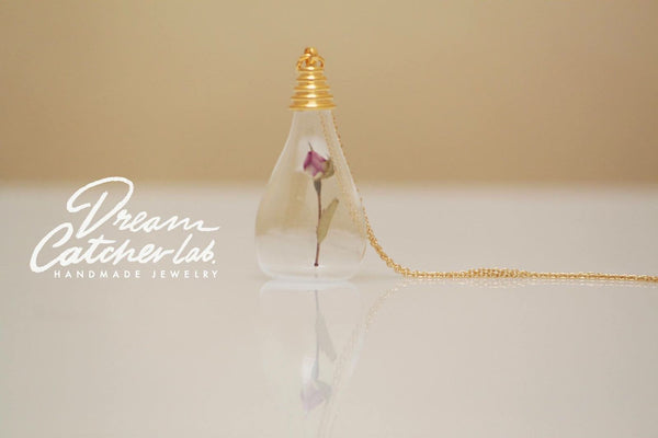Little Prince's Rose Necklace - EcoChic collection