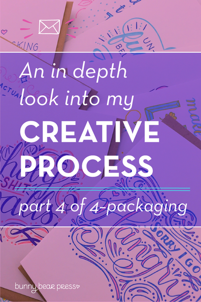 How to design for and print for letterpress (4 of a 4 Part Creative Process Series)