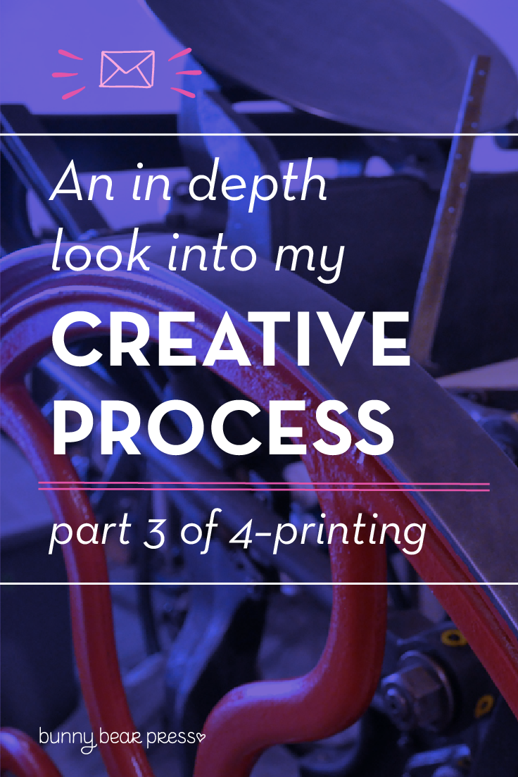 How to design for and print for letterpress (3 of a 4 Part Creative Process Series)