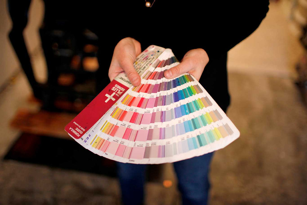 Pantone Color mixing Guide Fan Book