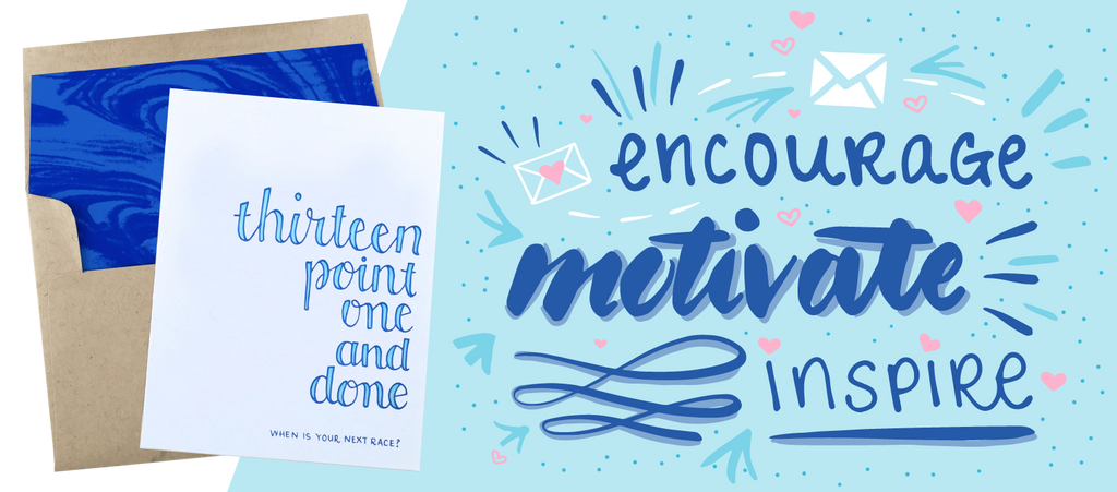 """Encourage, Motivate, Inspire"" Lettering Image"