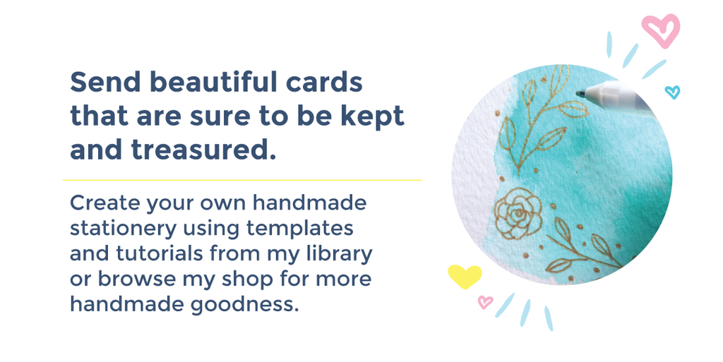 """Send out beautiful Cards that are sure to be kept and treasured"" Image"