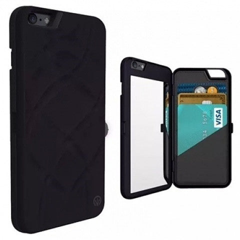 WALLET MIRROR CASE-BLACK