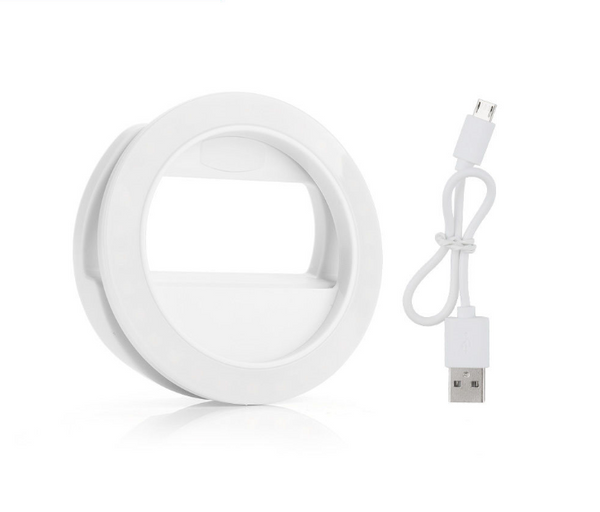 Selfie ring light - WHITE