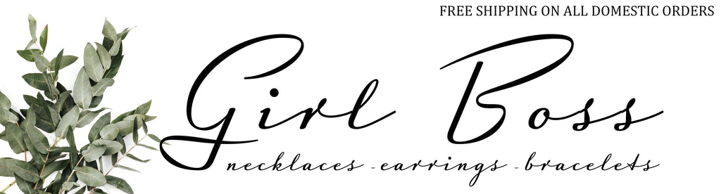 girl boss jewelry collection