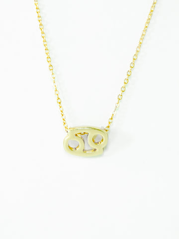 Zodiac Cancer Astrological Necklace