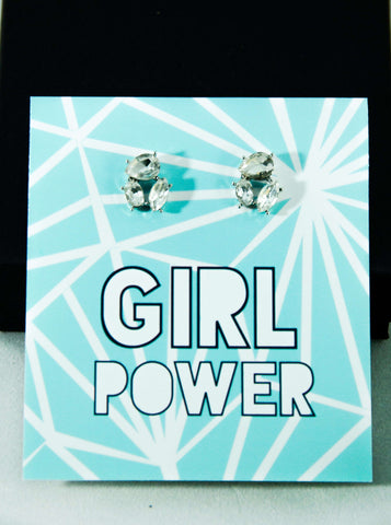 Girl Power Jewel Earrings