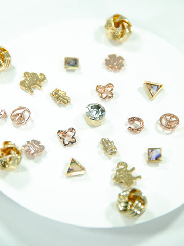Snowflake Mix + Match Stud Earrings (11 Pack)