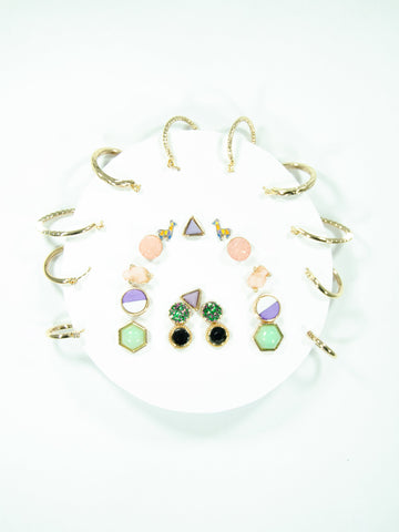 Rainbow Mix + Match Earring Set (13 Pack)