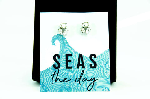 Seas The Day Jewel Earrings