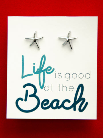 Life Is Good At The Beach Earrings