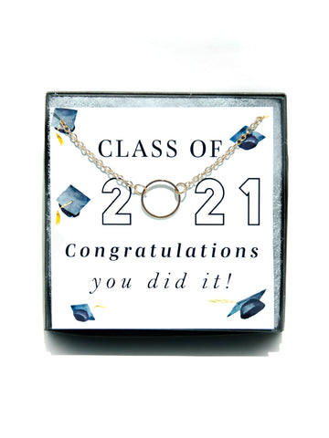 2021 Graduation Necklace Gift