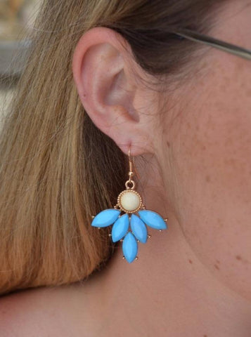 BlueJay Drop Earrings