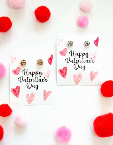 Happy Valentine's Day Earring Gift