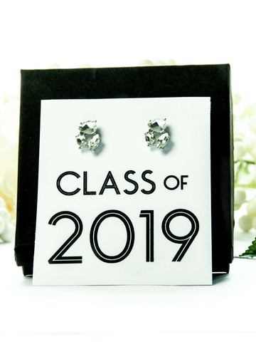 Class of 2019 Graduation Jewel Earrings Gift