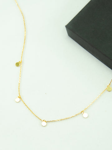 Brittany 18K Gold Necklace
