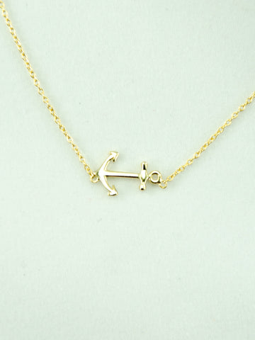 Vineyard Necklace (24K Gold)