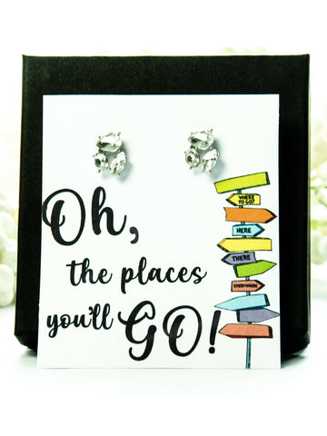 Oh the Place's You'll Go Jewel Earrings